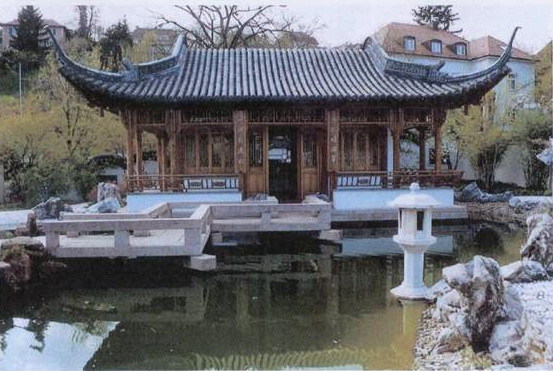 Chinese Garden Design good feng shui design small pond with goldfish various trees and bushes in chinese garden Introduction To A Traditional Chinese Garden